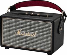 Marshall - Kilburn Portable Bluetooth Speaker - Black - Left_Zoom