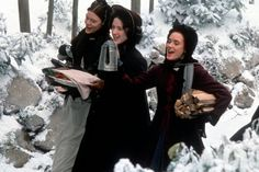 Pin for Later: What to Watch on Your Snow Day Little Women See young Winona Ryder, Kirsten Dunst, Claire Danes, and Christian Bale in the charmingly snowy tale about sisters growing up during the Civil War.