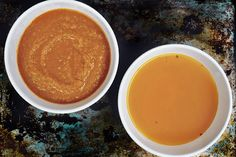 Bren Herrera's vegetable broth comes in two varieties. You can either stop at the broth, or take it one step further by pureeing the used, cooked vegetables and mixing them in.