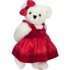 "15"" Sweetheart Bear from Vermont Teddy Bear. $69.99 #ValentinesDay #Gift #TeddyBear"