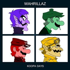 Waluigi Month - Day 3 by Sekhmet17