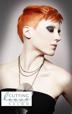 Cutting Loose Salon, Sarasota, FL. Beautiful Hair, Hair Color, Hairstyle, Short Hair, Red Hair, Punk Hair