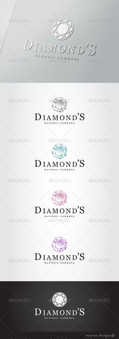 Diamond's II Logo  #GraphicRiver