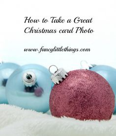 remember: great tips for taking Christmas photos!!