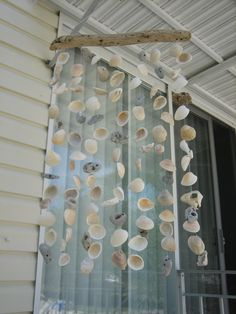 Sea shell wind chime ~ one of my creations.