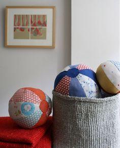 fabric beach balls