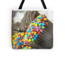 It's a pity Red Bubble doesn't sell aprons. In the meantime, here's a cupcake bag! #cupcake #food #tote #colour