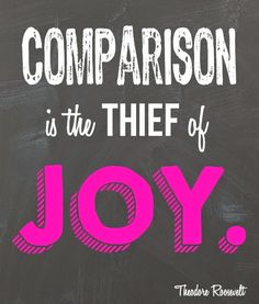 Comparison is the thief of joy quote and free printable from playpartypin.com #SparklewithDASANI #ad