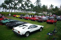 2015 Cavallino Classic: The annual Palm Beach gathering that celebrates old and new Ferraris