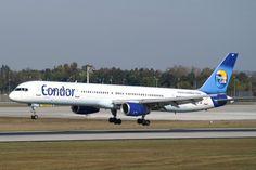 B-757-200 landing