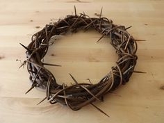 crown of thorns resurrection wreath - AllCreated