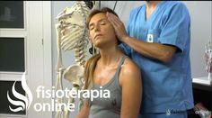 Estiramiento de del músculo esternocleidomastoideo.
