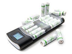 iGo Charger w/ 12 AA 12 aa, igo charger, aaa batteri