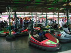 Bumper cars-the only time it's ok to bump people with cars