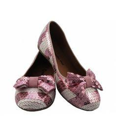 Sapatilha Paetê rosa e branca SAPATILHA SHOP Infantil (Ref: 4185) + frete grátis  http://www.sapatilhashop.com.br/infantil/sapatilha-paete-rosa-e-branca-sapatilha-shop.html