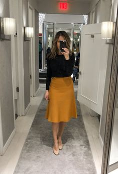 I'm excited to share today's fitting room snaps because a sale is finally happening on new arrivals and there are so many nice pieces. Maybe too many 😉 Ann Taylor had some amazing… Casual Work Outfits, Business Casual Outfits, Office Outfits, Modest Outfits, Skirt Outfits, Classy Outfits, Office Attire, Business Attire, Modest Clothing