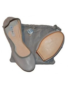 Ballerines Gorgeous Orchidée by Bagllerina #ByBea #women #fashion #accessory #shoes #ballerinas #grey #wishlist