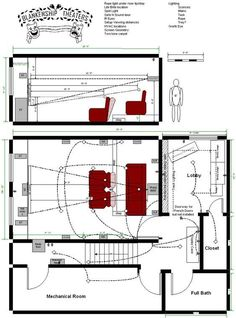 Home Theater Design Layouts | HOME THEATER ROOM LAYOUT
