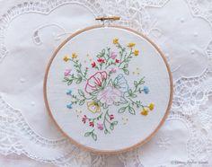 Christmas embroidery Christmas gifts for her by TamarNahirYanai