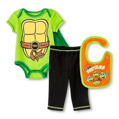 Newborn Boys' 5 Piece Teenage Mutant Ninja Turtles Gift Set