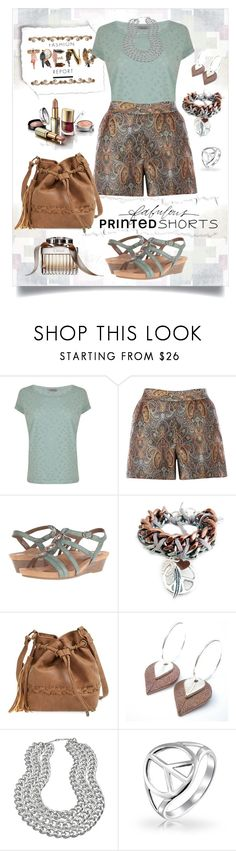"""Fashion Trend Report: Fabulous Printed Shorts"" by pwhiteaurora ❤ liked on Polyvore featuring Maison Scotch, Warehouse, Cobb Hill, Stella & Dot, Blu Bijoux, Bling Jewelry, Chloé and printedshorts"