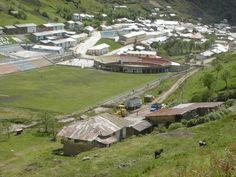 La Oficina Boggio junto al pueblo de Hualgayoc.