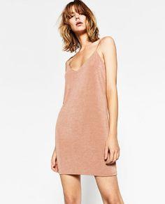 Image 3 of SHORT STRAPPY SLIP from Zara