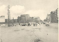 1949r. Widok z ulicy Puławskiej w kierunku placu Unii Lubelskiej.