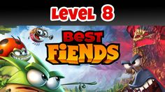 Best Fiends Level 8 Clogged Cave