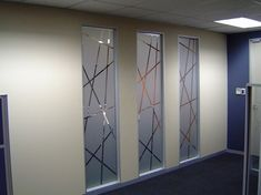 Frosted Glass Design, Glass Wall Design, Frosted Glass Window, Etched Glass Door, Tv Wall Design, Modern Office Design, Office Interior Design, Glass Partition Designs, Glass Etching Designs