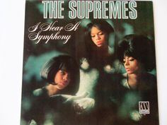 The Supremes - I Hear a Symphony - Original Mono Motown 1966 - Holland Dozier & Holland - Soul - Diana Ross - Vintage Vinyl LP Record Album by notesfromtheattic on Etsy
