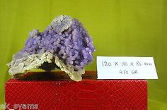 475 grams GRAPE AGATE From Indonesia Golden and Purple Colours