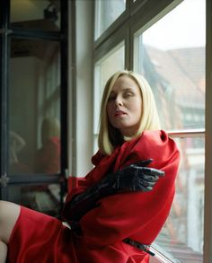 ..cooler than the lanvin red dress:)) roisin murphy