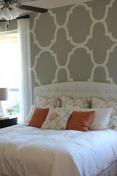 Harvest LiveSmart by Hillwood Communities. Highland Homes Model Home, Master Bedroom.
