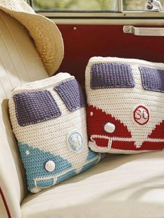 VW van pillows