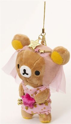 Rilakkuma bear zodiac sign Virgo plush charm