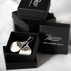Ceramic jewelry  by ZuDesignJewelry