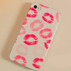 LovMe — LIps Frosted Painting Phone Case For iPhone iPhone 5 Girly Phone Cases, Iphone Cases Cute, Cool Cases, Phone Covers, Iphone 6, Coque Iphone, Iphone Accessories, Mobile Cases, Ipad Case