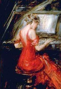Giovanni Boldini 'The Woman in Red '
