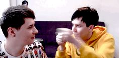 Dan and Phil are too perfect