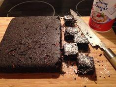 brownies with cherries