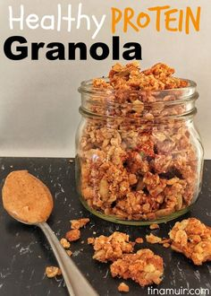 This healthy Vanilla Almond Butter Granola recipe from Elite Runner Tina Muir is filled with nutritious ingredients to start your day off the right way!
