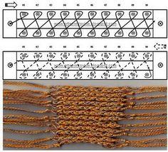 Ponto - tear de pregos - knitting board