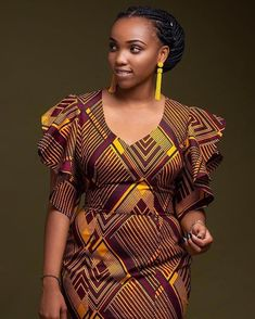 is an African fashion and lifestyle website that showcase trendy styles and designs, beauty, health, hairstyles, asoebi and latest ankara styles. Ankara Dress Styles, African Fashion Ankara, Latest African Fashion Dresses, Latest Ankara Styles, African Dresses For Women, African Print Dresses, African Print Fashion, Africa Fashion, African Attire