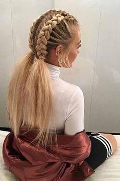 A great benefit of having braid hairstyles is that you don't have to shampoo your hair as often. In fact if you do, you may end up making your braids frizzy or if you are using extensions, you may loosen them by accident. However, you should be able to keep your hair and scalp clean by shampooing your braids once a week or once every two weeks.#hairstraightenerbeauty #NaturalBraidsHairstylesupdo #NaturalBraidsHairstyleswithoutweave #NaturalBraidsHairstylescornrow…