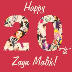 Happy birthday Zayn! :)  Love u!