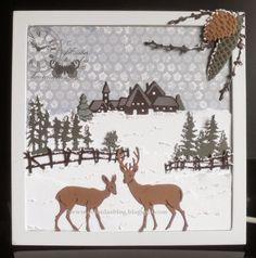 Colinda's blog: Kerst schilderijtje