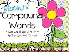 Freebie: This is flower themed activity that is designed to reinforce understanding of compound words. The activity can be used as a whole group game for in. First Grade Activities, Reading Activities, Compound Word Activities, Daily Activities, Kindergarten Freebies, Teacher Freebies, First Grade Reading, Word Reading, Jolly Phonics