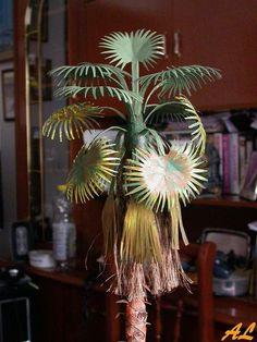 En esta ocasión nos hemos entretenido realizando otro tipo de palmera. En el primer tutorial de palmeras de este blog (ver apartado tutoriales) hemos realizado una reproducción de la palmera típica...
