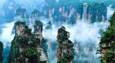 Национальный лесной парк Чжанцзяцзе. Китай.